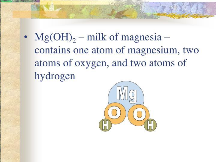 Mg(OH)