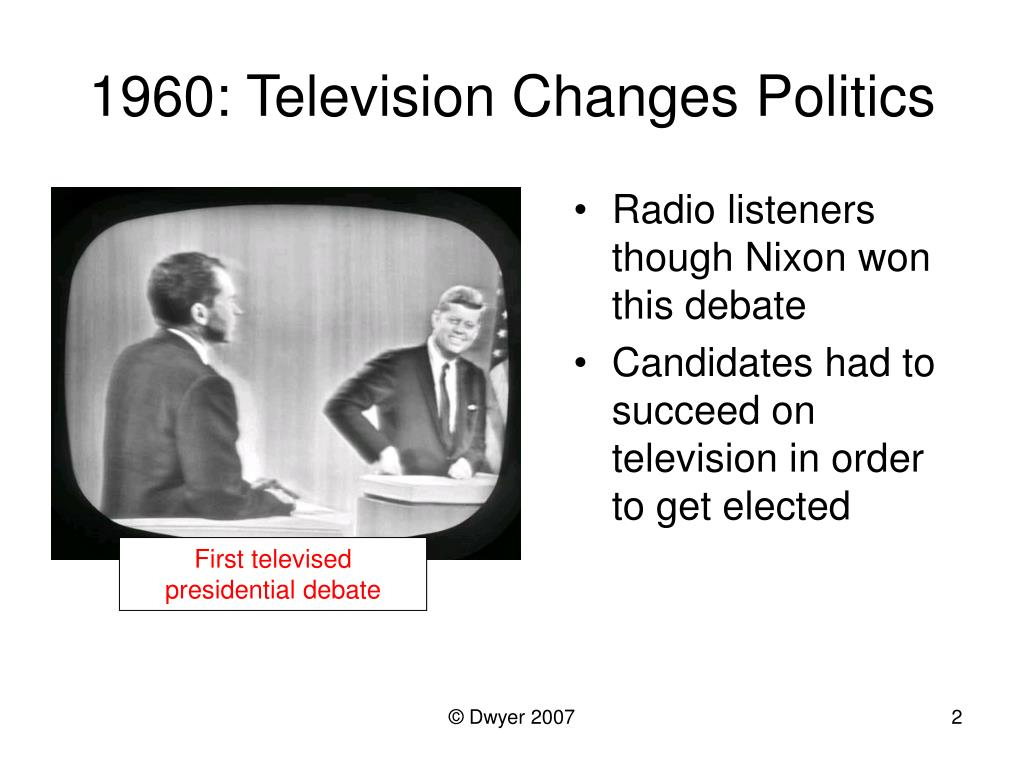 1960: Television Changes Politics
