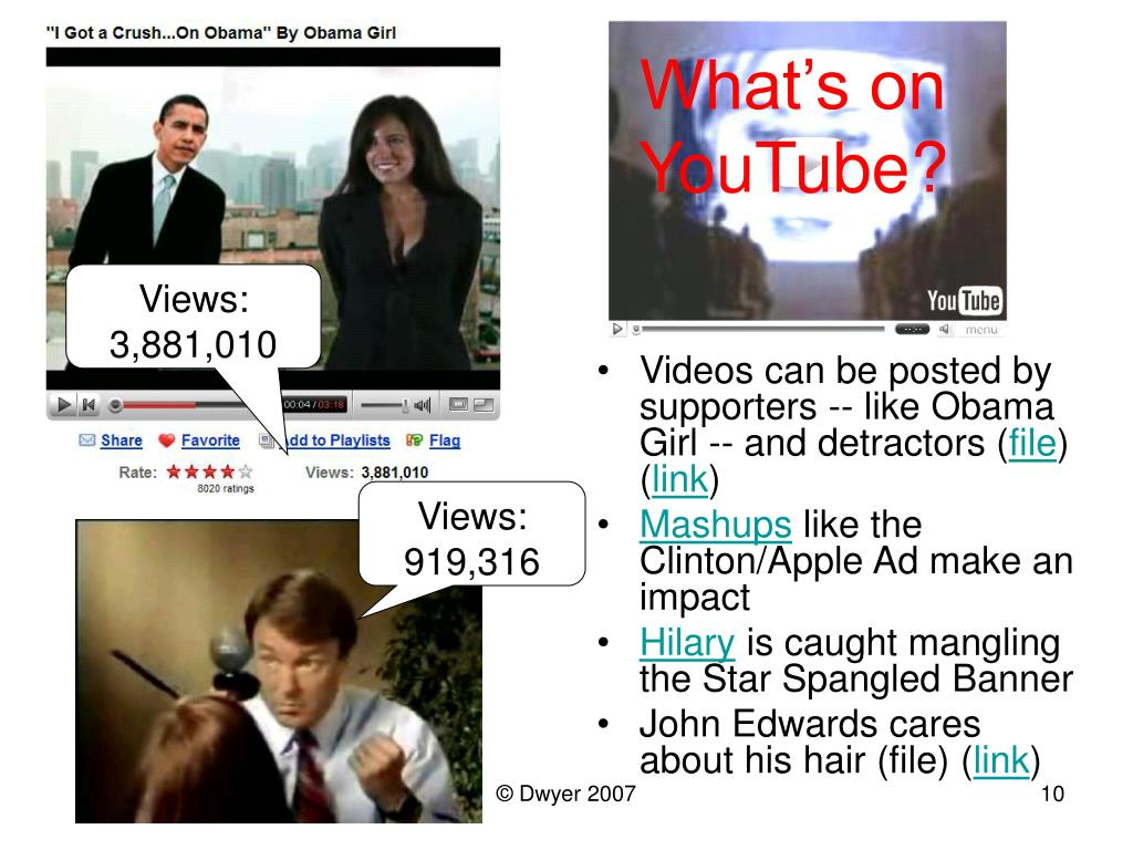 What's on YouTube?