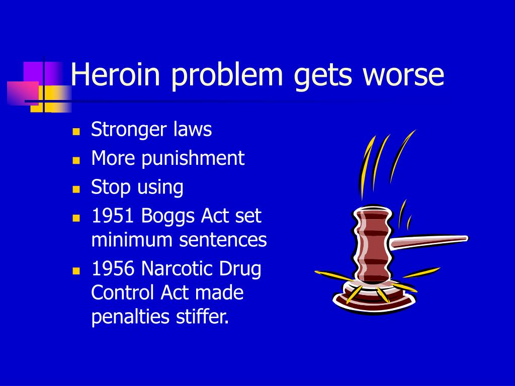 Heroin problem gets worse