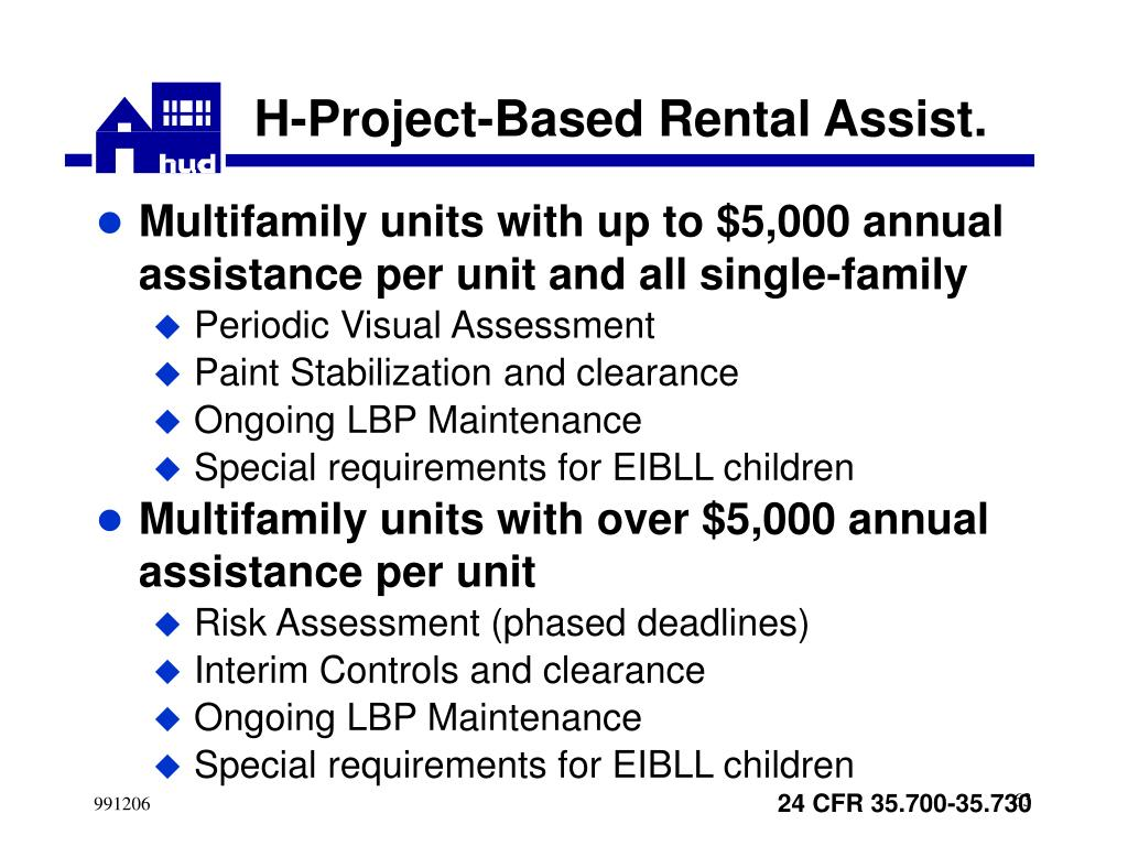 H-Project-Based Rental Assist.