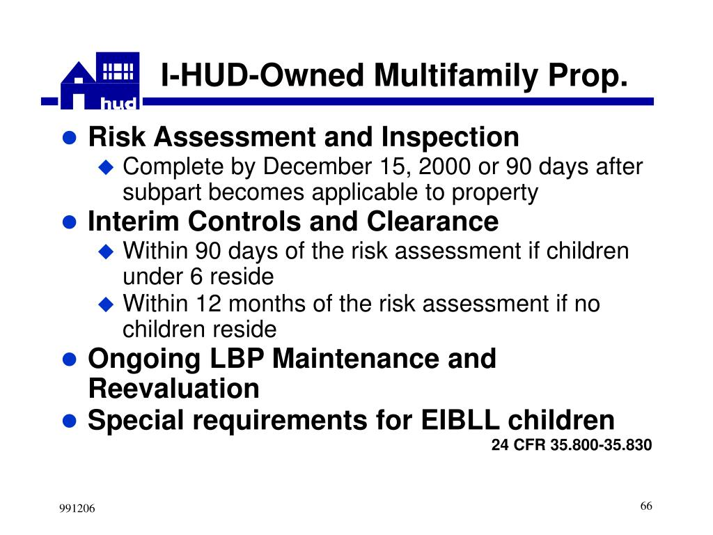I-HUD-Owned Multifamily Prop.