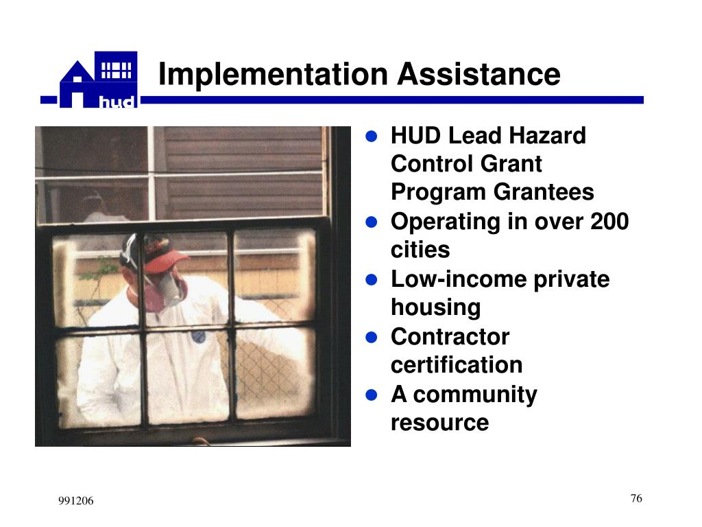 HUD Lead Hazard Control Grant Program Grantees