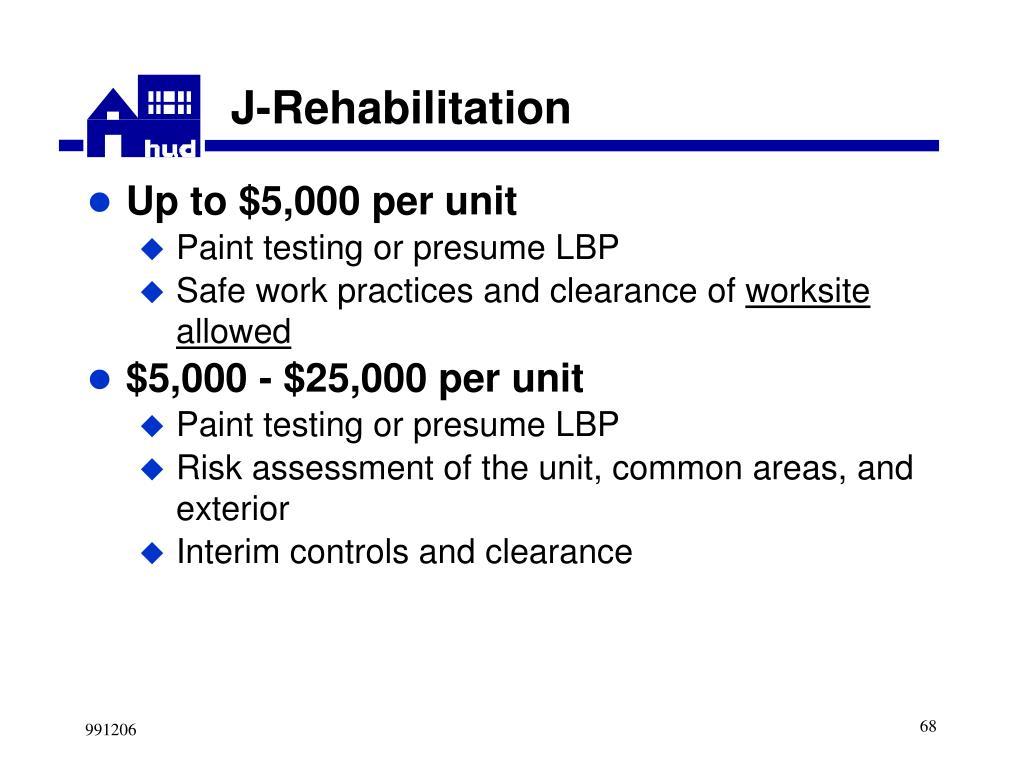 J-Rehabilitation