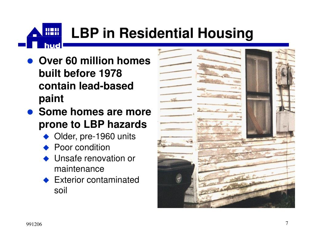 LBP in Residential Housing