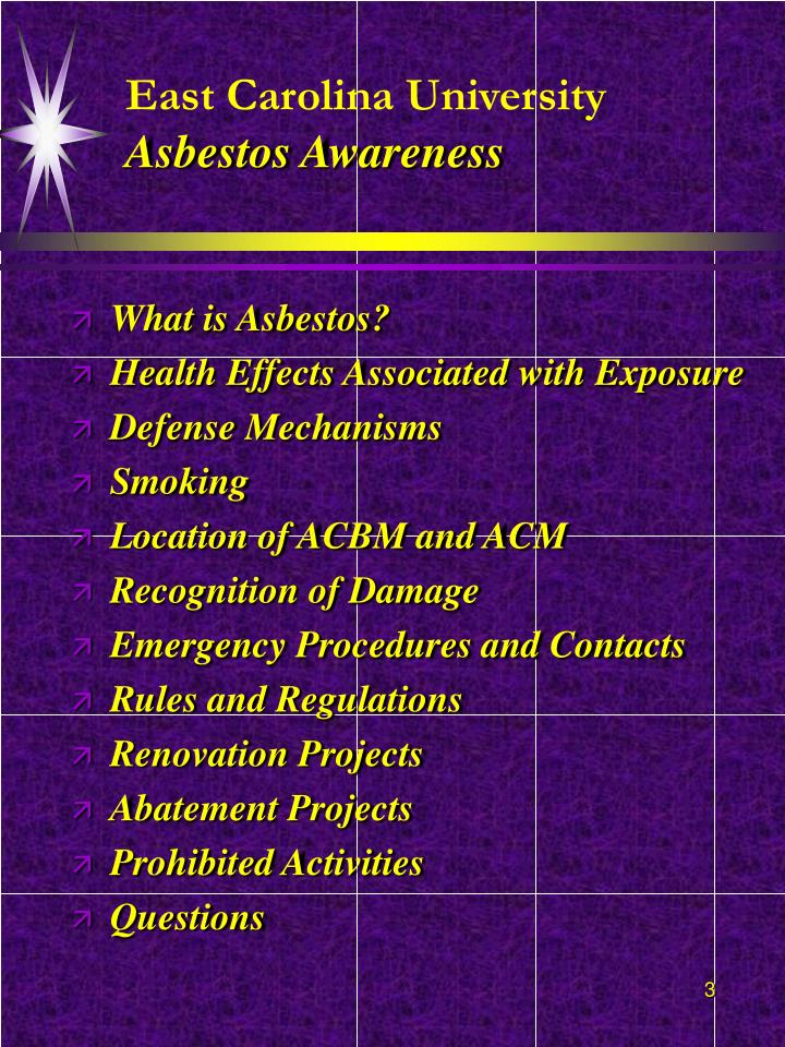 East carolina university asbestos awareness3 l.jpg