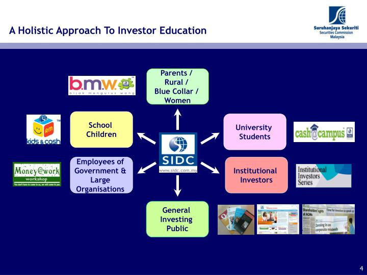 A Holistic Approach To Investor Education