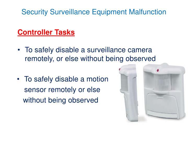Controller Tasks