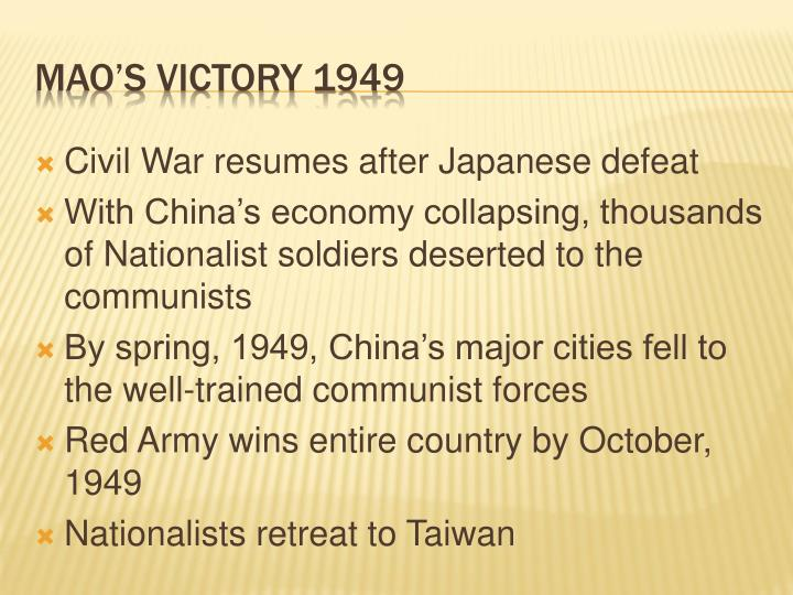 ppt communists take power in china powerpoint