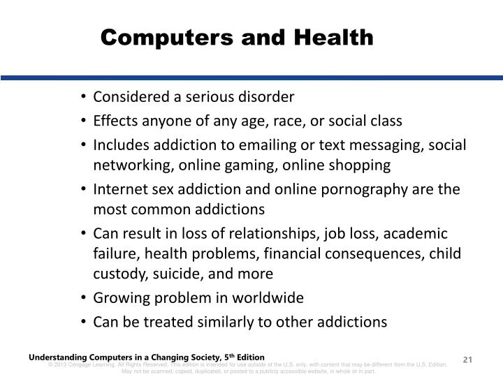 Computers and Health