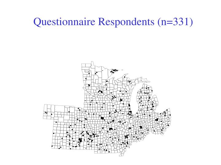 Questionnaire Respondents (n=331)