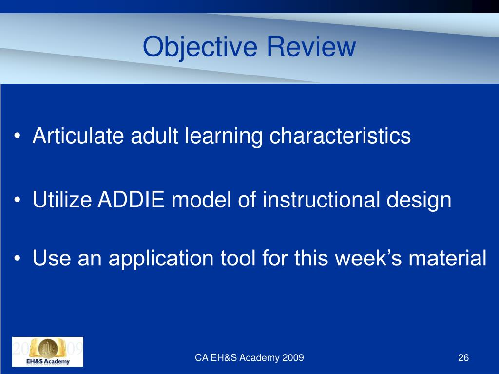 Objective Review