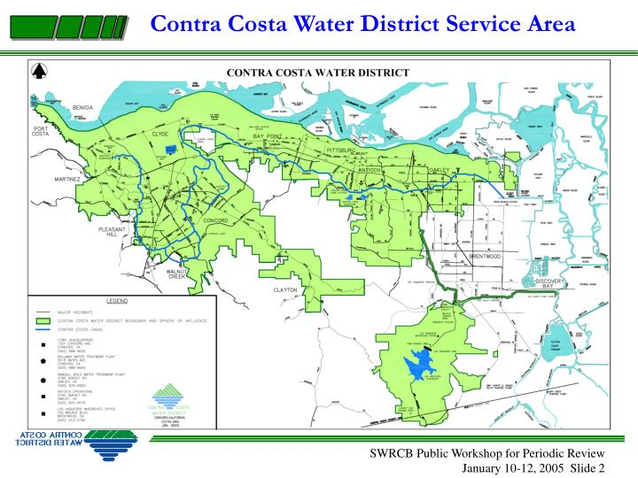 Contra Costa Water District Service Area