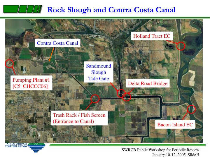 Rock Slough and Contra Costa Canal