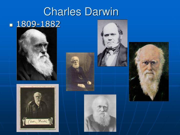 Charles darwin antithesis