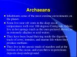 archaeans