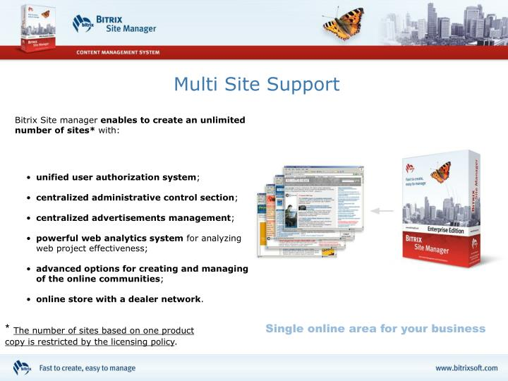 Multi Site Support