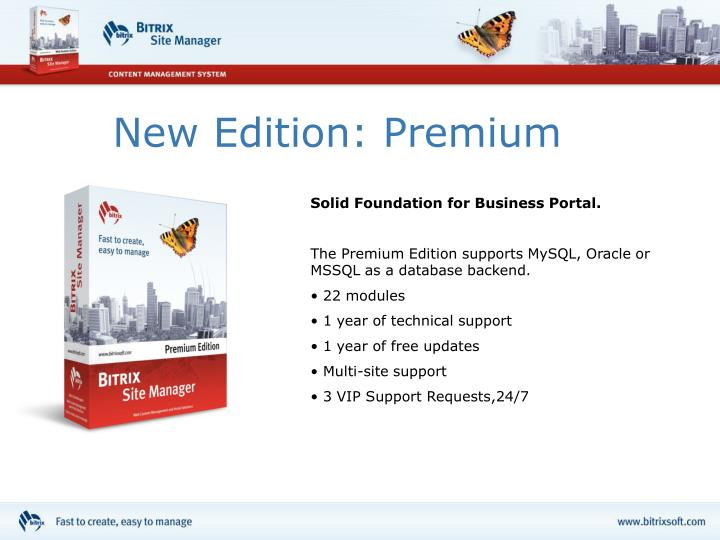 New Edition: Premium