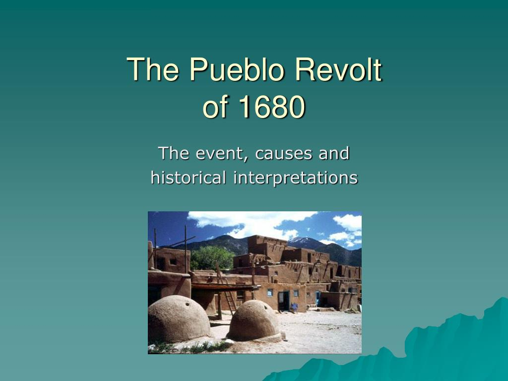what caused pueblo revolt of 1680 Even though planning for the revolt took years and had to be kept secret, the pueblo revolt of 1680 turned out to be very successful 400 colonists were killed, and another 2000 fled from new mexico the pueblos rid themselves of the spaniards for nearly a decade.