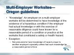 multi employer worksites oregon guidelines10