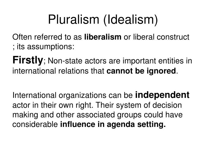 Pluralism (Idealism)