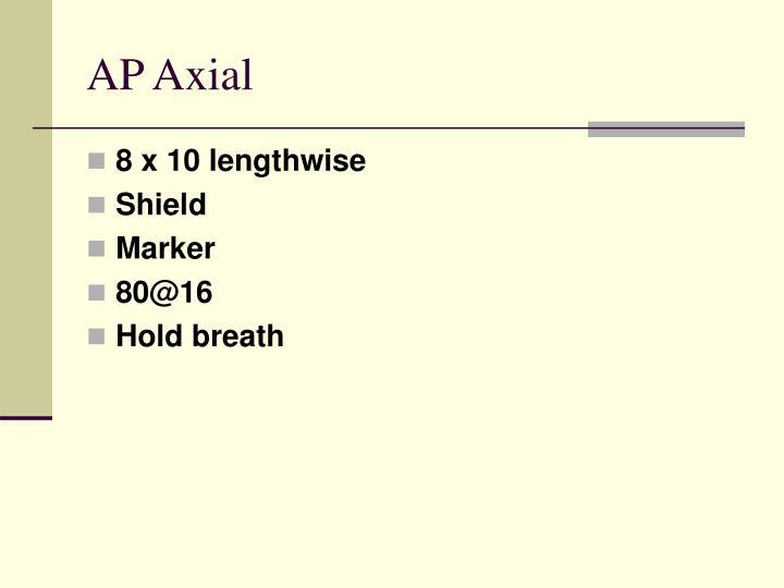 AP Axial