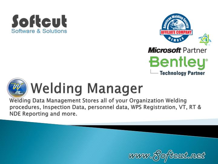 Welding Manager