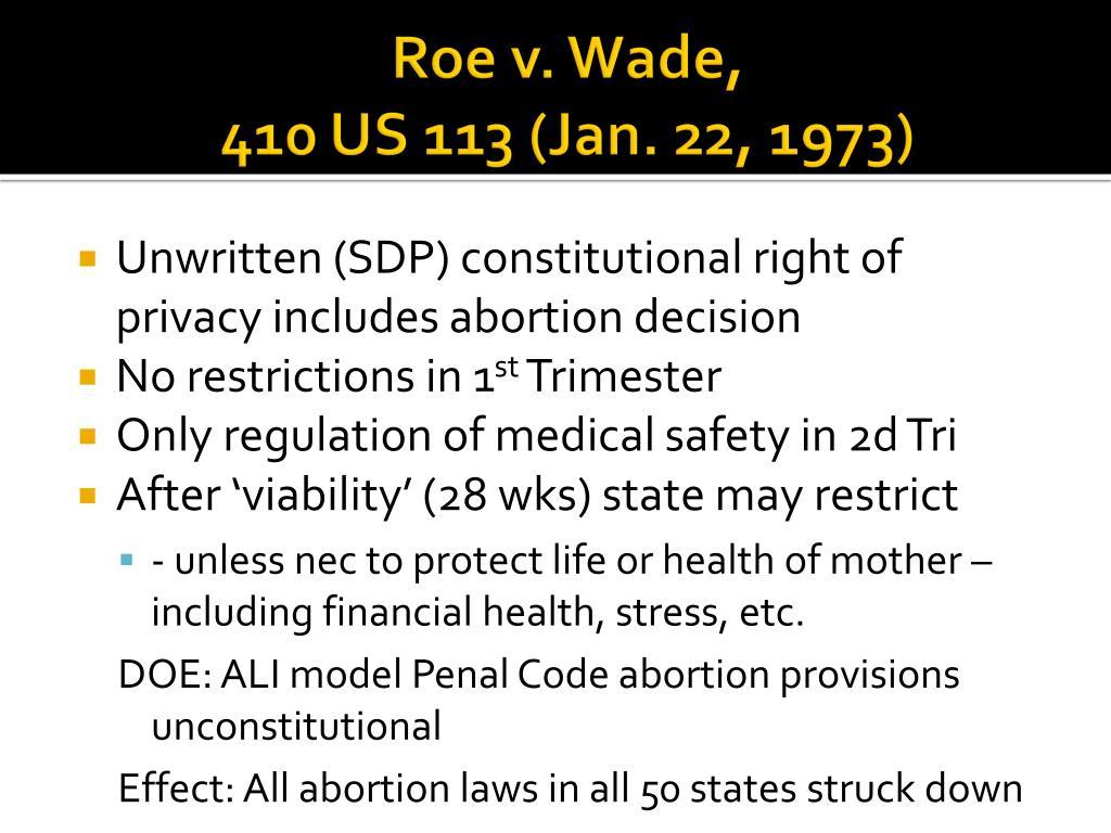 Roe v. Wade,