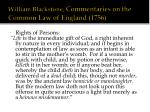 william blackstone commentaries on the common law of england 1756