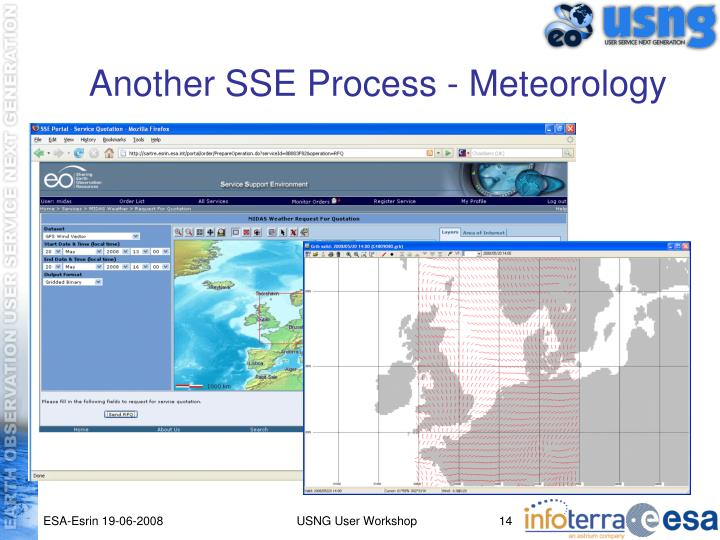 Another SSE Process - Meteorology