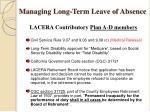 managing long term leave of absence6