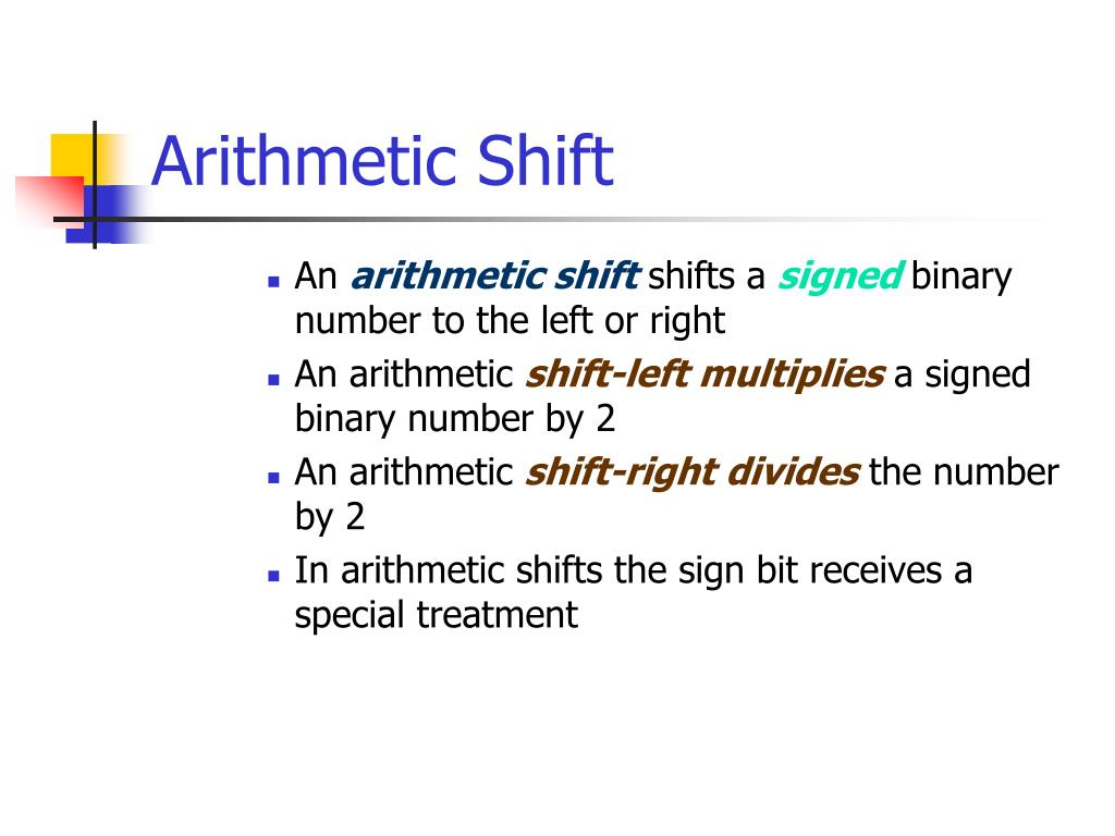Arithmetic Shift