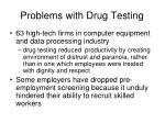 problems with drug testing3