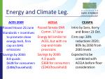 energy and climate leg