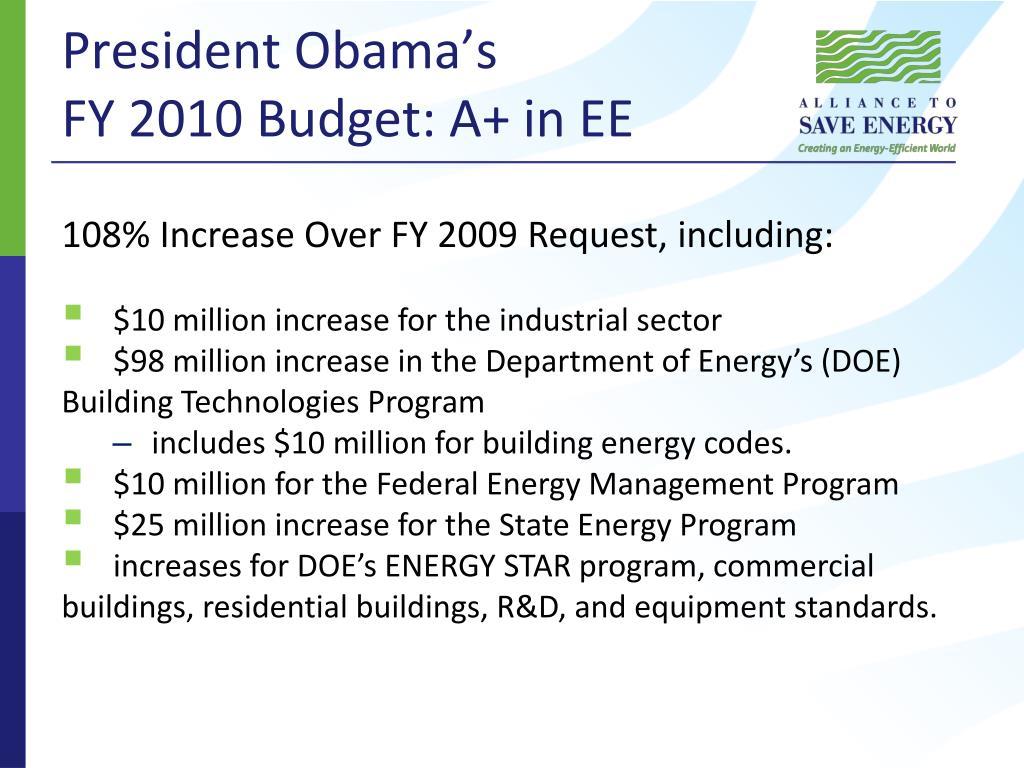 President Obama's