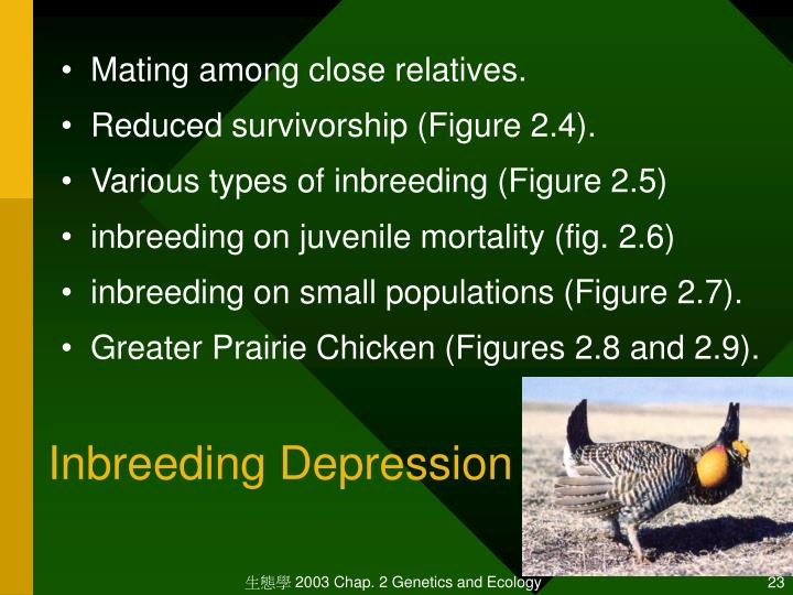 Inbreeding Depression