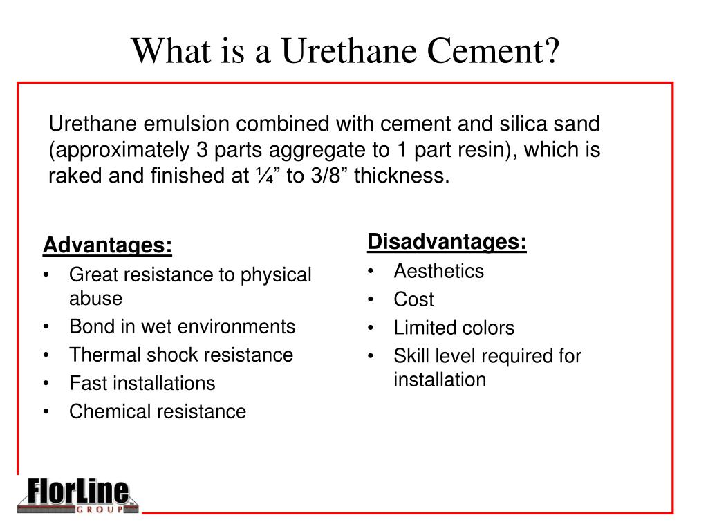 What is a Urethane Cement?