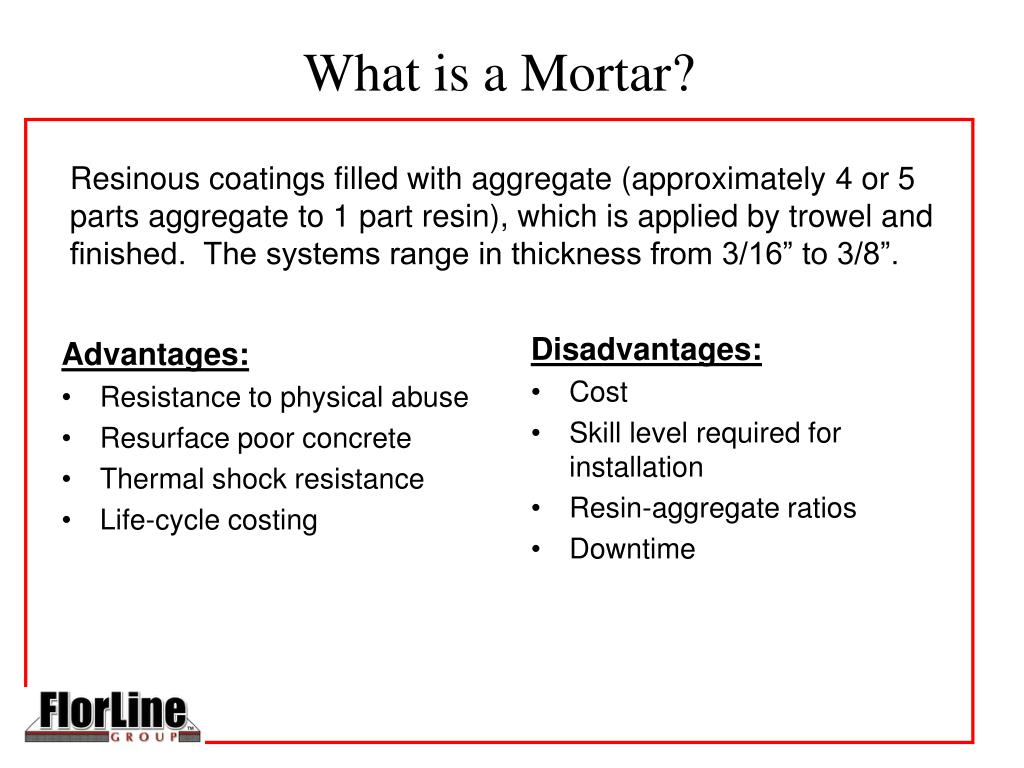 What is a Mortar?