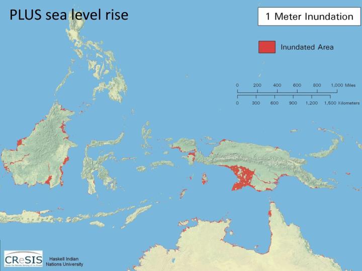 PLUS sea level rise