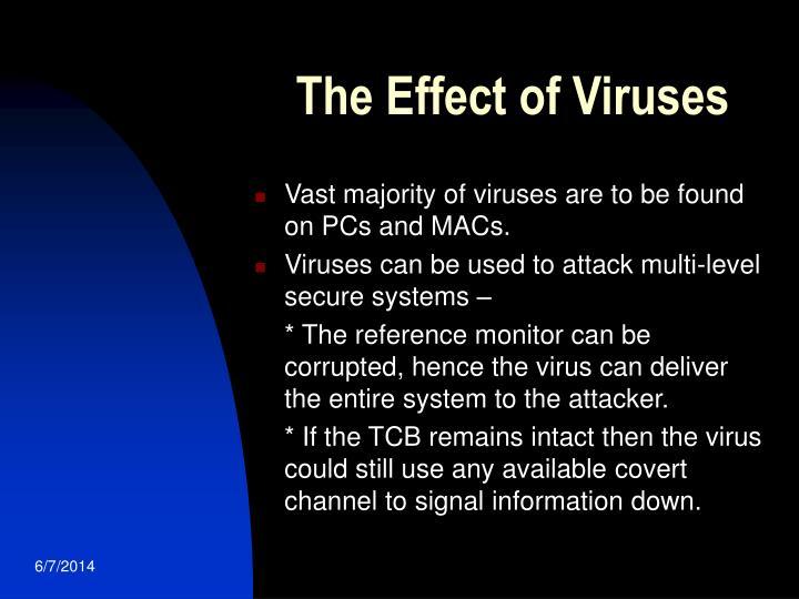 The Effect of Viruses