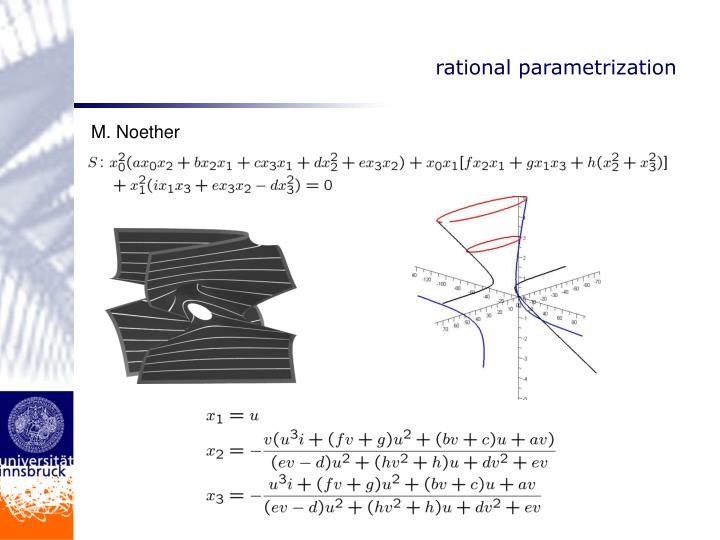 rational parametrization