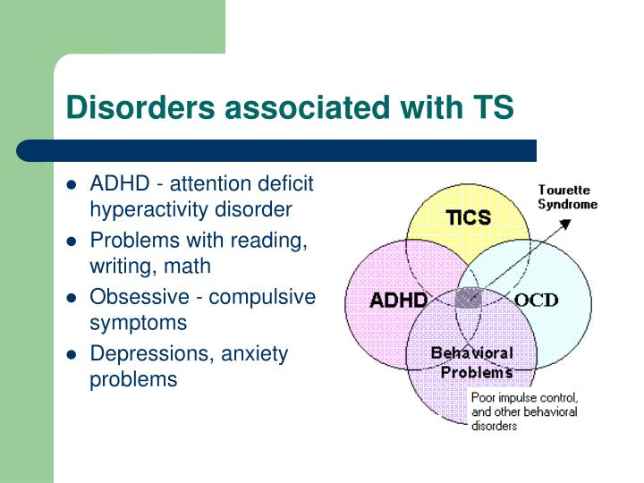 Disorders associated with TS