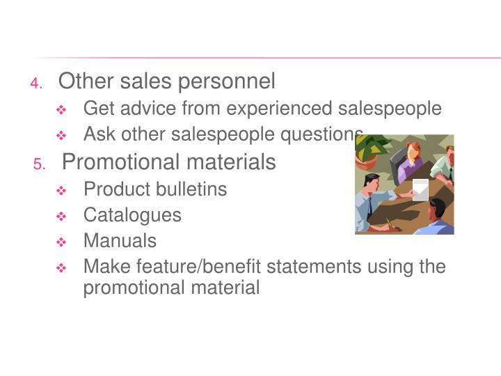 Other sales personnel