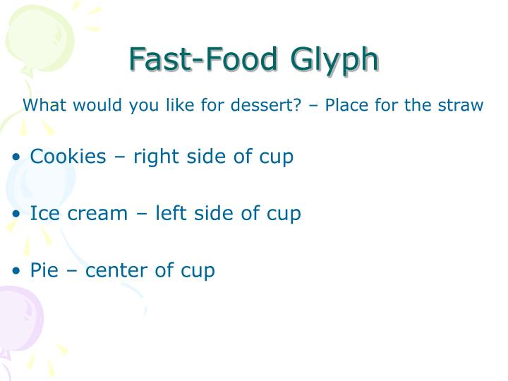 Fast-Food Glyph