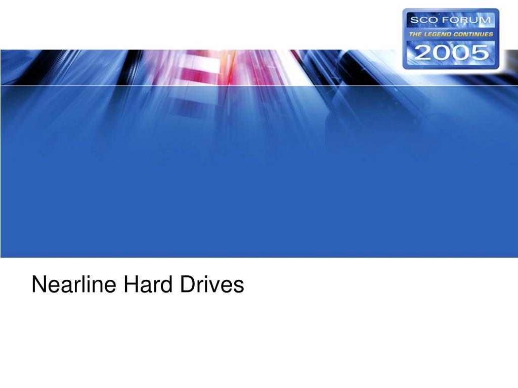Nearline Hard Drives