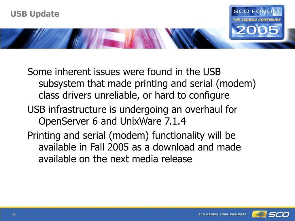 USB Update