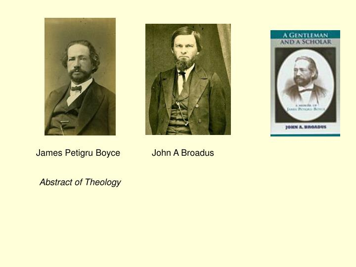 James Petigru Boyce
