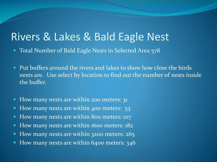 Rivers & Lakes & Bald Eagle Nest