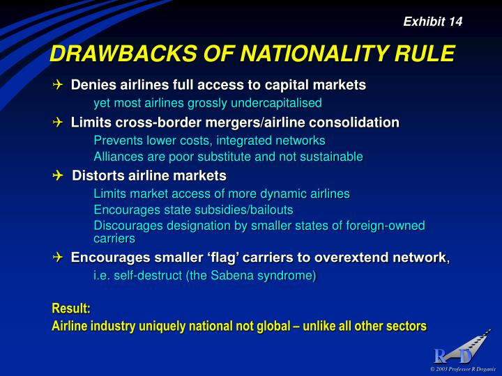 DRAWBACKS OF NATIONALITY RULE
