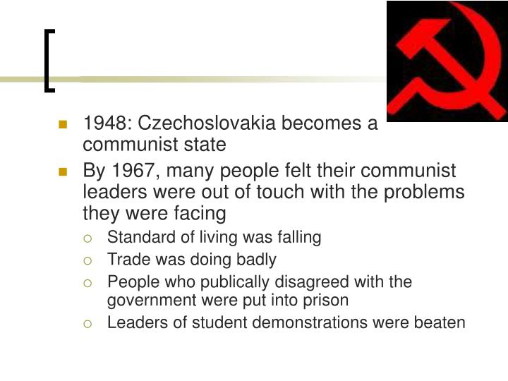 1948: Czechoslovakia becomes a communist state